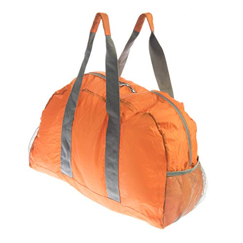 Se bg-db103or ligero naranja resistente al agua bolsa de viaje plegable para camping, Gimnasio, viaje y almacenamiento