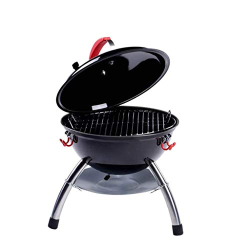 Grill im Freien Ofen Charcoal Außen BarbecueBarbecue Abdeckung Grill Holzkohle Smokeless Barbecue 3-5 Personen for Garten Picknick Tourismus Wandern Campin DYWFN