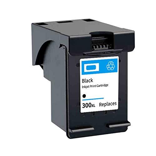 Reemplazo compatible con cartuchos de tinta de color negro 300XL, para HP DeskJet C4680 C4780 D1660 D2530 D2560 D2660 impresora 1*black