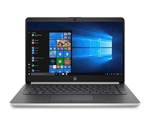 "HP 14-dk0017ns - Ordenador portátil de 14"" FullHD (AMD Ryzen 7-3700U, 8GB RAM, 256GB SSD, AMD Radeon RX Vega 10, Windows 10), Color Plata - Teclado QWERTY Español"