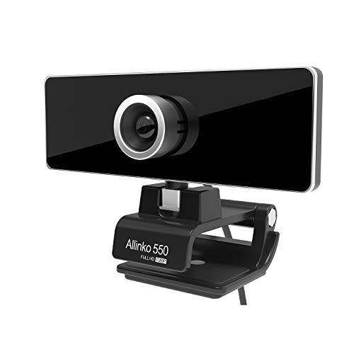 Allinko 550 Webcam 1080P, Zoom Skype Web...
