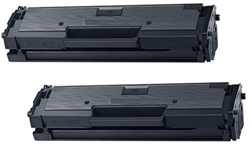 Prestige Cartridge MLT-D111S 2-er Pack Toner kompatibel für Samsung Xpress SL-M2020, M2020W, M2021, M2021W, M2022, M2022W, M2026, M2026W, M2070, M2070W, M2070FW, M2070F, M2071, M2071W, M2071FH