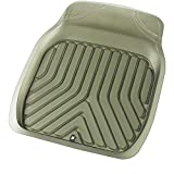 ボンフォーム カーマット 3Dプライム 普通車 フロント1枚 立体構造で汚れキャッチ ズレ防止加工 丸洗いOK 48x65cm スモーク 6279-01SM