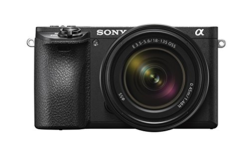 Sony a6500 Mirrorless Camera with 18-135mm Lens with LCD, 3', Black
