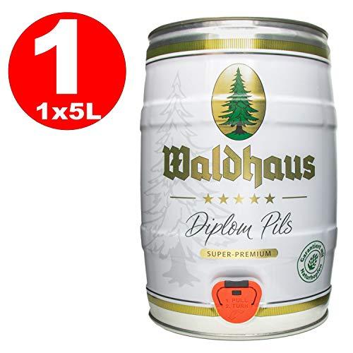 Waldhaus diploma pils 5 litros 4,9% vol. barrilete