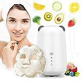 Machine à masques de fruits et légumes DIY, Masque facial Maker, Machine de beauté SPA pour le soin du visage, Machine automatique de masques faciaux de collagène (blanc)