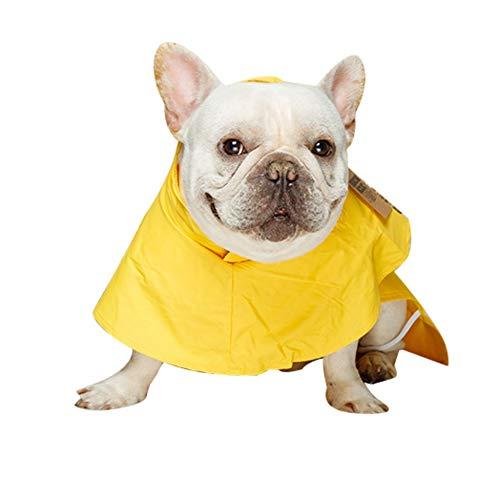 Bebliss wasserdichter Hund Regenmantel Hunde Regenjacke Sicherheit Regenbekleidung Hund Overalls Poncho Kleidung für kleine mittelgroße große Hunde CAT