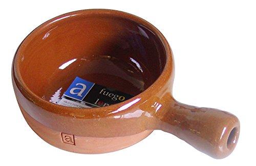 A Fuego Lento Zum köcheln Topf Schmorpfanne Ofen, Schlamm, Honig, 13. cm