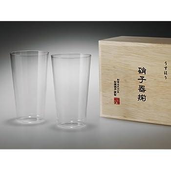 【松徳硝子】うすはり タンブラーM木箱2P