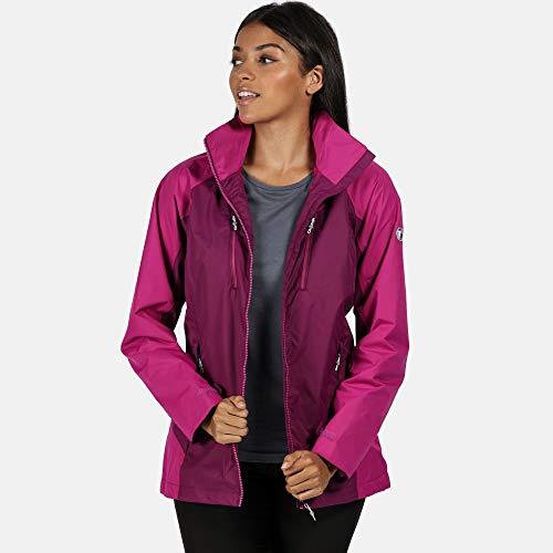 412VdlNFroL. SS500  - Regatta Women's Calderdale Iii' Lightweight Breathable Taped Seams Active Hiking Jackets Waterproof