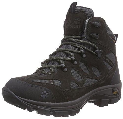 Jack Wolfskin Damen All Terrain 7 Texapore MID W Trekking- & Wanderstiefel, Grau (Shadow Black 6101), 40 EU