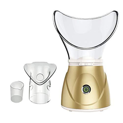 Professional Digital Deluxe facial Spa Mist et sauna inhalateur Spa – aide à ouvrir les pores et éliminer la saleté, les bactéries et les résidus de maquillage (or)