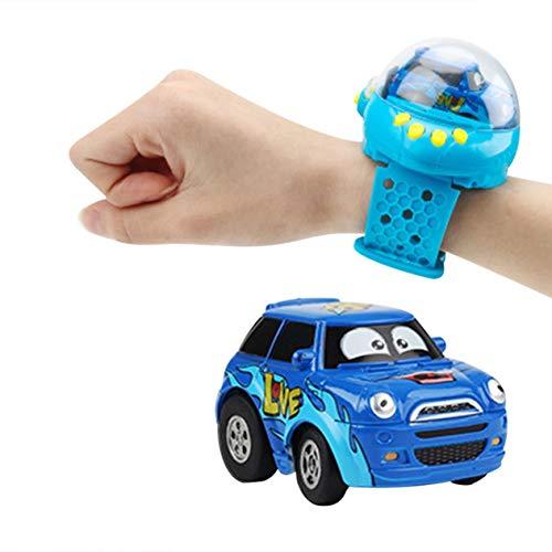 Cartoon Enfants Capteur De Gravité Montre Télécommande Voiture Jouet Jouet Innovant Voiture Mini Voiture Portable Bleu; Bleu; BCVBFGCXVB