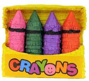 Pinatas Crayon Box