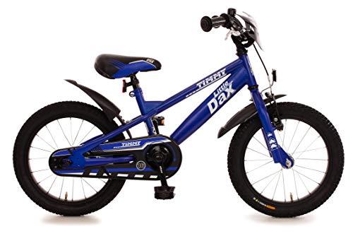 Fahrrad 16 Zoll Rücktrittbremse Ständer Kinderfahrrad Kinderrad Mädchen Jungen Matt Blau