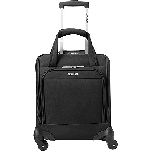 American Tourister Lynnwood 16 Inch Underseat Spinner Carry-On Luggage With Wheels - (Black)