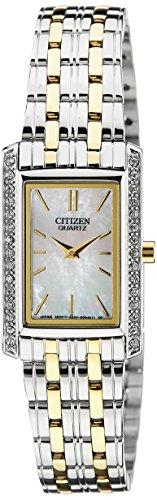 Citizen Analog White Dial Women's Watch - EK1124-54D
