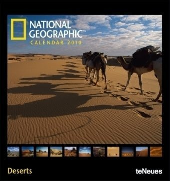 National Geographic Deserts 2010. Fotokalender