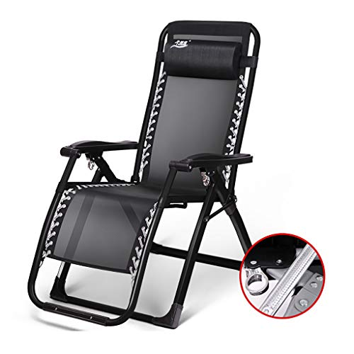 Chaise longue Chaise pliante Pause déjeuner Fauteuil inclinable multifonctionnel Chaise de plage Lit bébé Pas besoin d'installer