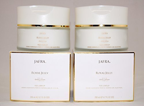 Jafra Royal Jelly Body Complex 6.7 Fl.oz. X 2 Jars by Jafra