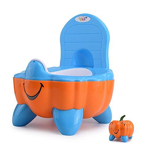 HKANG WC per Bambini Toilette Design Portatile Removable Facile da Pulire Adatto A Bambini Piccoli,Orange