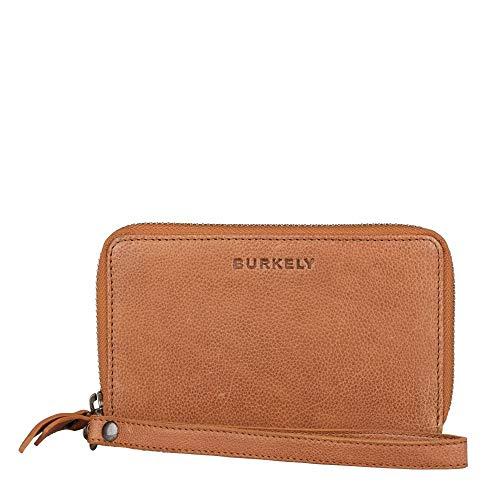 Burkely Just Jackie Wallet Wristlet Portemonnee RFID Cognac