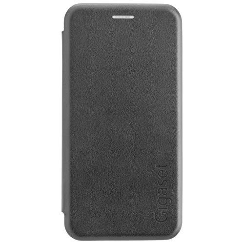 Gigaset Book Case (R&um Schutz vermeidet Schäden, anti-scratch, Full Body Schutzhülle, mit 360°, Zubehör geeignet für GS180 Smartphone) schwarz