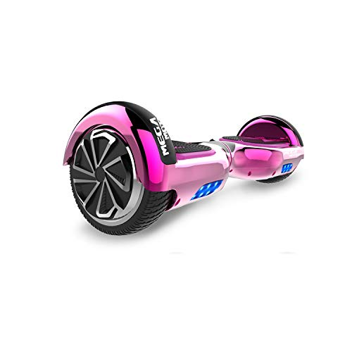 SOUTHERN-WOLF Hoverboard Self-Balancing Scooter, 6,5zoll Hover Scooter Board Bluetooth Scooter mit bunten Lichter Bluetooth eingebaute Geschenk für z29 (Rose red)