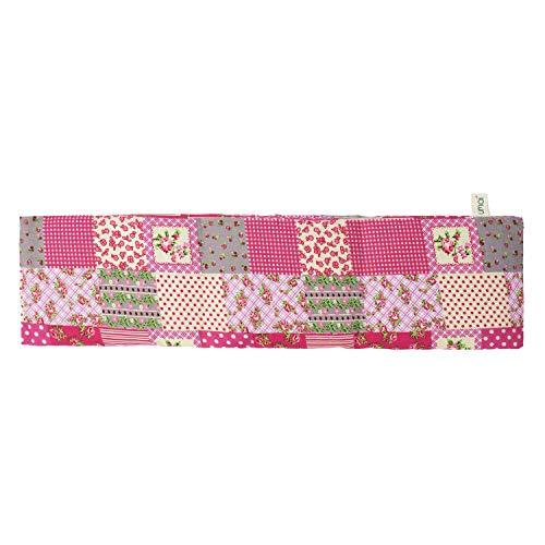 UMOI Lavendel & Weizen Kissen für Entspannung und Wohlbefinden zum Aufwärmen im Backofen oder Mikrowelle I 700 Gramm Lavendel & Weizen I 42cm x 12cm (Bunte Flecken)