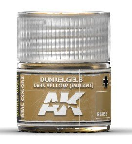 RC062 | AK Interactive Real Colors: Dunkelgelb Dark Yellow (Variant) | 10ml