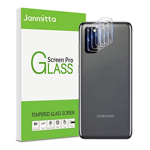 Janmitta Pellicola Protettiva per Samsung Galaxy S20 Fotocamera, Alta Definizione Vetro Temperato [AntiGraffio][Facile da Installare] Flim [3 Pack]