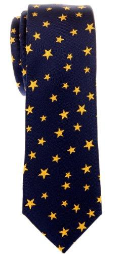 Retreez - Cravate - Motifs - Homme - Bleu - Taille Unique