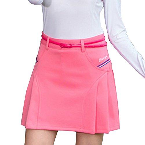Elodiey Faldas De Las Mujeres De Negocios Chic Moda Primavera Summer Girls Beach Falda Falda De Verano Damas Deportes Fitness Tenis Falda Cintura Elástica Falda De Golf Falda Falda