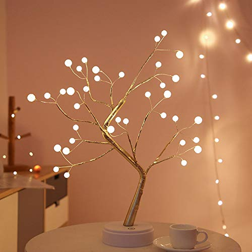 Neon Signs, Tree Neon Sign for Wall Decor, LED Neon Light, Battery or USB Powered Light Up Bedroom, Used for Christmas New Year Birthday Parties Weddings Cafes Bars Children's Rooms Acrylic Neon Sign