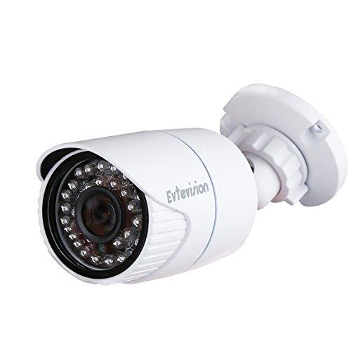 Evtevision 1080P Fotocamera di sicurezza 2 Megapixel AHD/TVI/CVI/CVBS Telecamere di sorveglianza CCTV, HD 3.6mm lenti ampio angolo di vista con menu OSD,UTC,IR-Cut 30M/100Feet Visione notturna