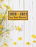 2020-2021 Two Year Planner: family planner 2020 see it bigger planner | Jan 2020 - Dec 2021 | 24 Months Agenda Planner with Holiday | Personal ... design (2 year monthly planner 2020-2021)
