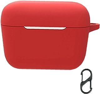 Bluetooth Headset Case Soft Earphones Bag Waterdichte silicone beschermhoes Compatibel met Sennheiser CX 400BT Red Perfect...