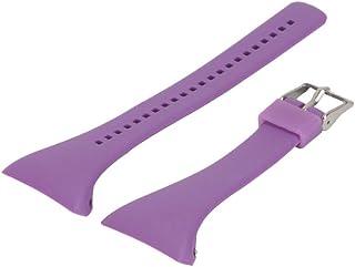 NICERIO Correa de Reloj Compatible con Polar FT4 / FT7, Correa de Repuesto de Correa de Reloj de plástico con Correa de muñeca de liberación rápida para Hombres y Mujeres (púrpura)