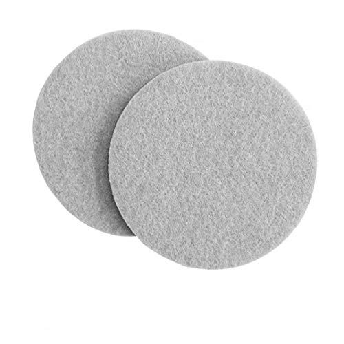 OMMO LEBEINDR Sticky Non-Rutsch-Matte Runde Filz Möbel Pad Bodenunterlage für Harte Oberflächen Startseite