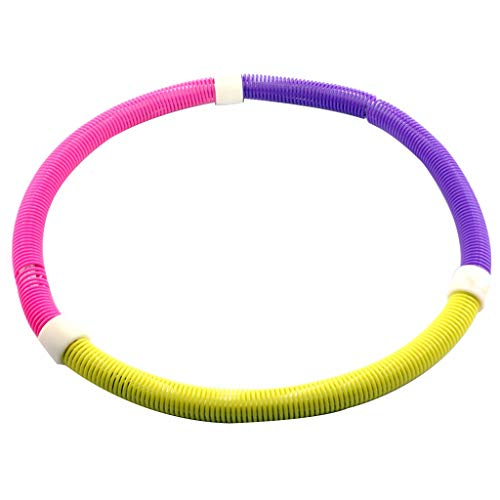 Lowest Price! MGMDIAN Adult Massage Folding Soft Spring Hula Hoop/Weight Loss Thin Waist Female Weig...