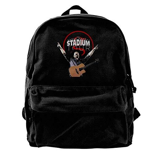 Fashion Casual Canvas Bookbag Garth Brooks The Stadium Arin Tour 2019 Canvas Backpack