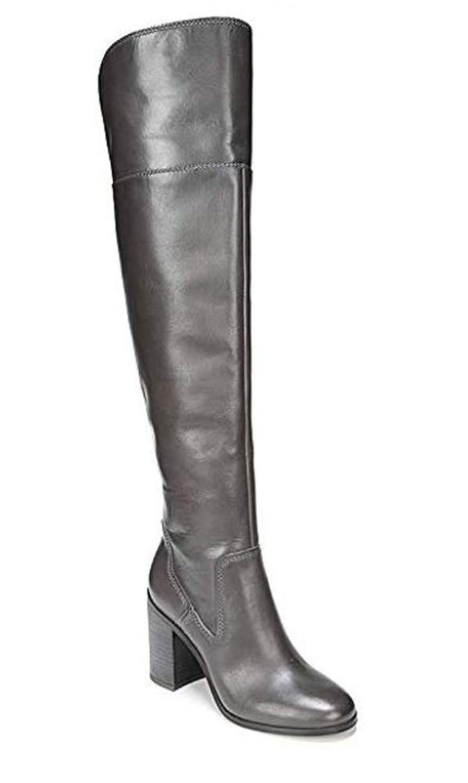 [Franco Sarto] Womens Almond Toe Leather Fashion Boots