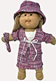 Doll Clothes Super store 5 Piece Tweed Suit Fits Cabbage Patch Kid Dolls