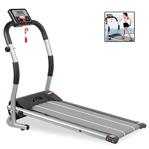 Affordable Treadmills Mechanical Household Electric Folding Mute Men and Women Free Installation Sma...