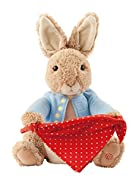 GUND Peter Rabbit plush toy Pose taken from Beatrix Potters original illustrations Finest quality soft toy Handwash only CE marked