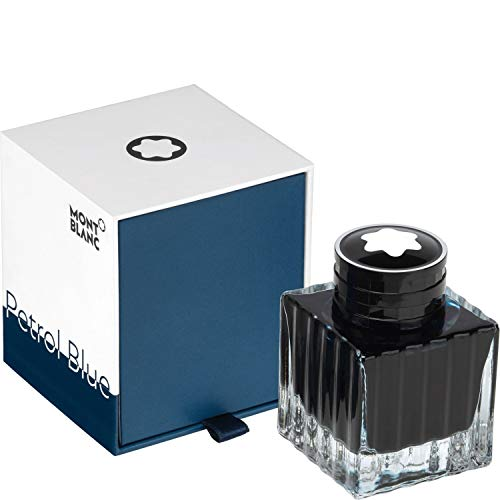 Montblanc Colour of the Year - Barattolo di inchiostro blu petrolio, 50 ml