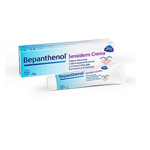 Bepanthenol Sensiderm - Crema Anti Arrossamento e Prurito della Pelle Senza Cortisone - 20 g