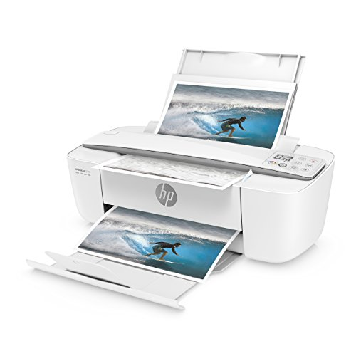 HP DeskJet 3720 Multifunktionsdrucker (Instant Ink, Drucker, Scanner, Kopierer, WLAN, Airprint) grau mit 3 Probemonaten HP Instant Ink inklusive