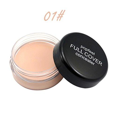 Gaddrt Popfeel Cache maquillage visage, palette Fondation crème hydratante (A)