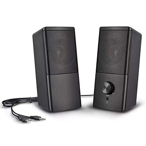 YAOHONG Altavoz New Desktop Computer Audio Laptop Mini Heavy Low Cannon USB Ordenador Ponente